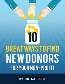 E-BOOK: 10 Great Ways to Find New Donors for Your Non-Profit